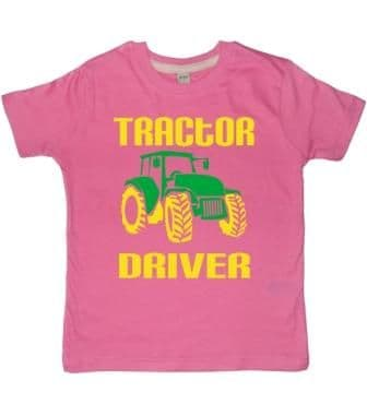 Personalised Tractor Driver T-shirt